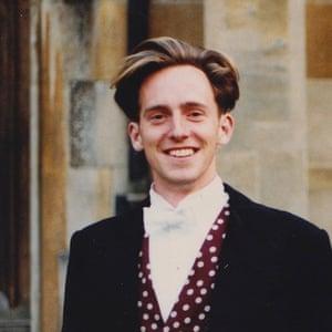 Tom Shone in Oxford, 1989