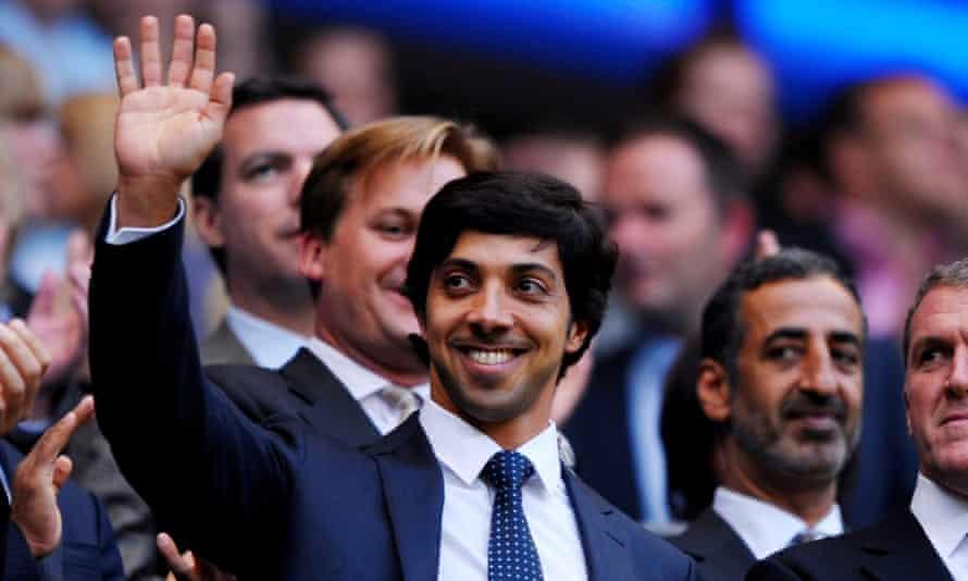 Manchester City owner Sheikh Mansour bin Zayed Al Nahyan.