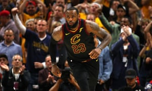 LeBron James was once again on top form against the Celtics