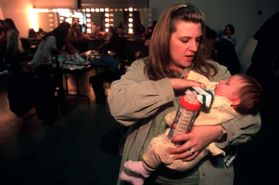 Vycki Higley, with daughter Robyn, who was born seven weeks after her father died in the World Trade Center.
