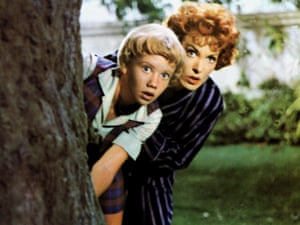 With Hayley Mills in The Parent Trap, 1961