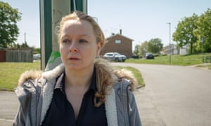 Samantha Morton in I am Kirsty: 'Homelessness is so much more of an issue for women now.'