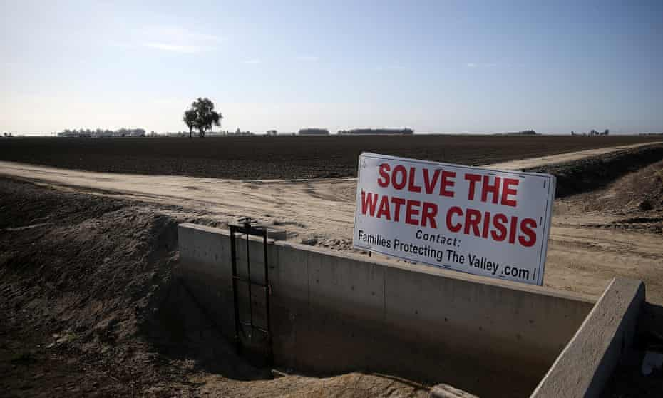 California's Central Valley has been severely affected by drought in recent years.