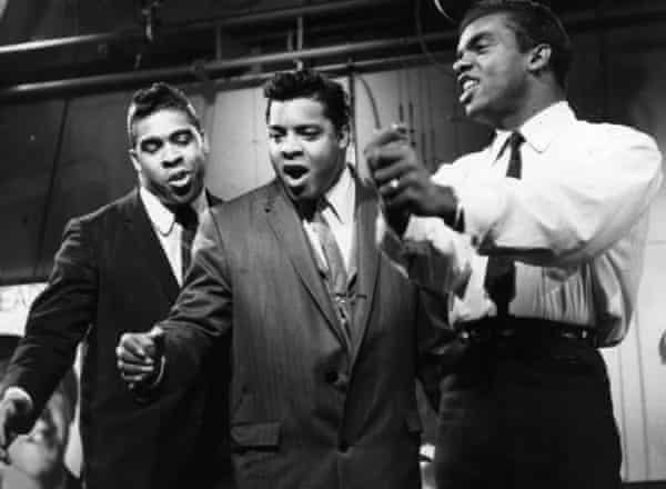 Ronald, Rudolph and O'Kelly Isley, of the Isley Brothers, photographed in November 1964