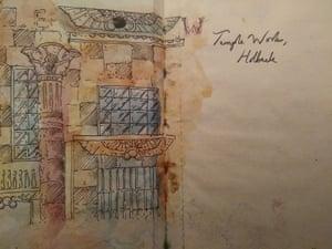 Temple Works illustration.