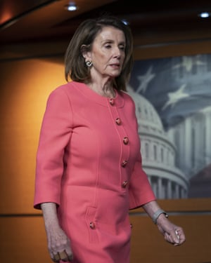 House Speaker Nancy Pelosi has talked of a blind drift to war with Iran.