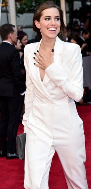 Actor Allison Williams