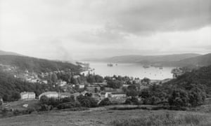 Faslane naval base in 1958.
