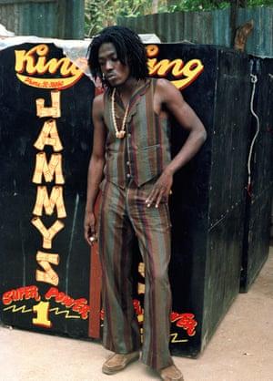 Junior Reid in 1985