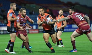 Castleford beat Huddersfield on Friday as they continued their remarkable season.