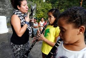 Clarinet tutor Mariana dos Santos
