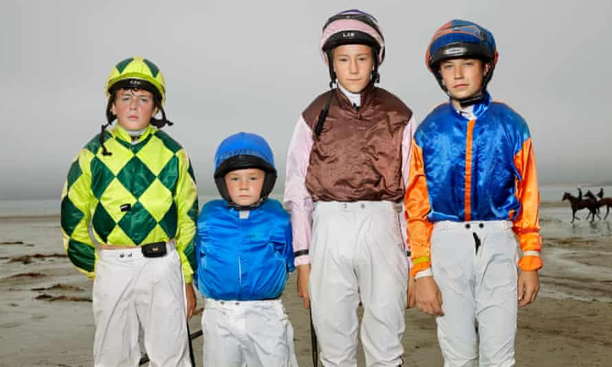 Young riders Daniel King, Dylan O'Connor, Mickey McGuane and Andy Bourke