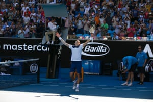 Novak Djokovic returned for the first time since an elbow injury sidelined him since Wimbledon.
