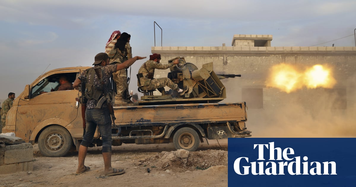 UK suspends arms exports to Turkey to prevent use in Syria