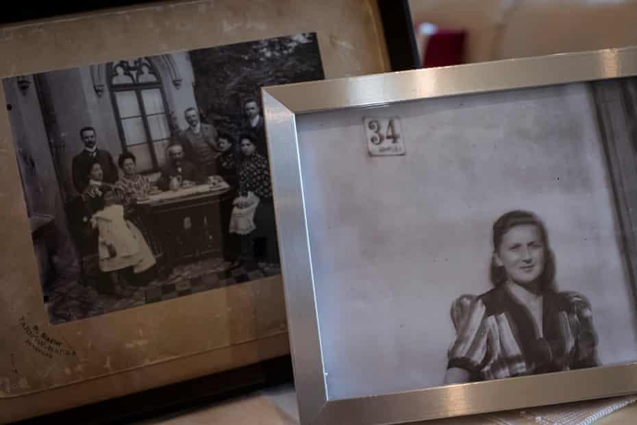 Photographs of Ann Drillich's mother