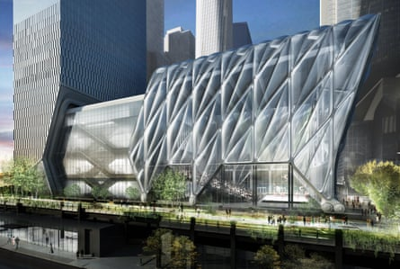 'Like a Chanel handbag on wheels' … how the $500m Shed will look.