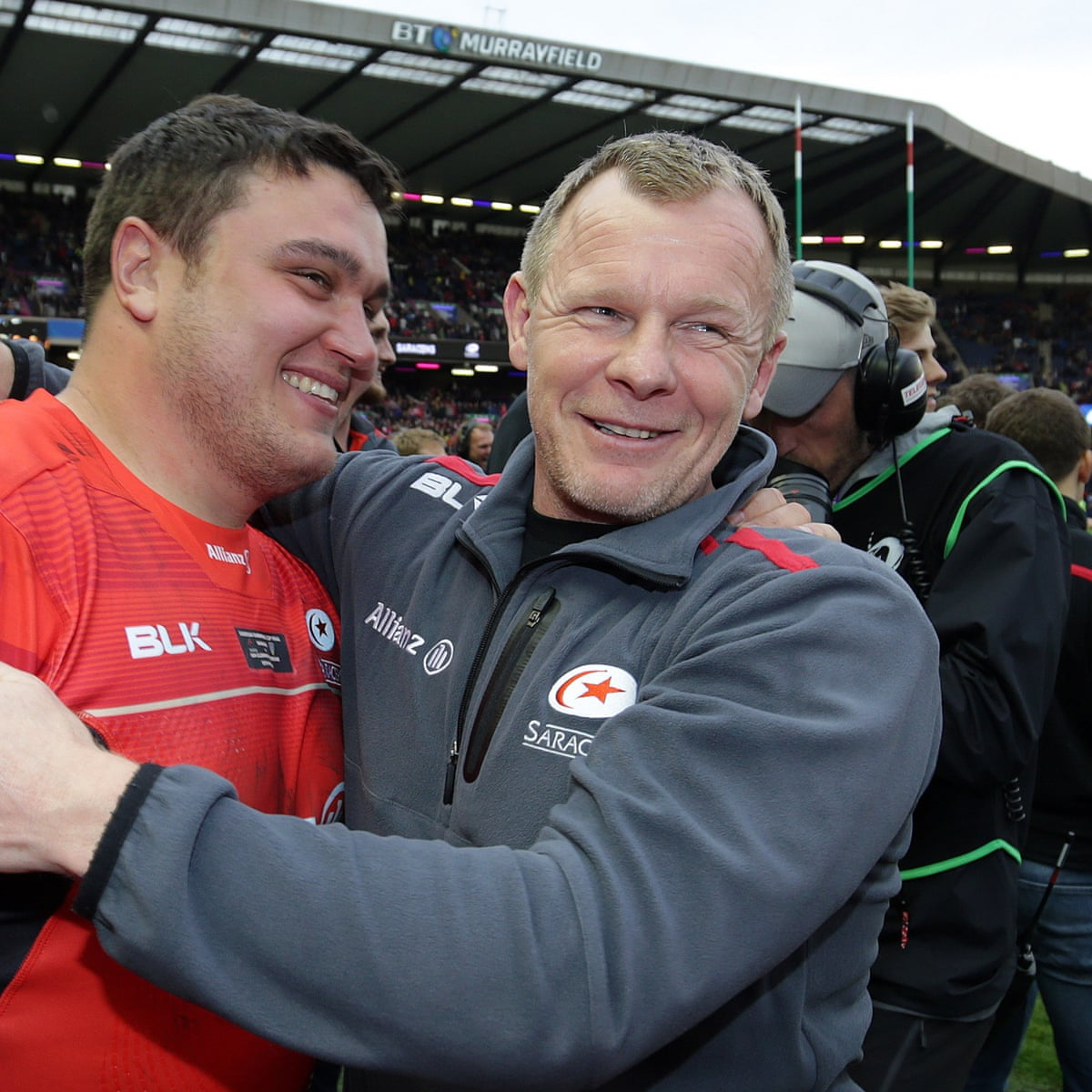 Quiet and calm Mark McCall provides the backbone for sustained Saracens  success | Saracens | The Guardian