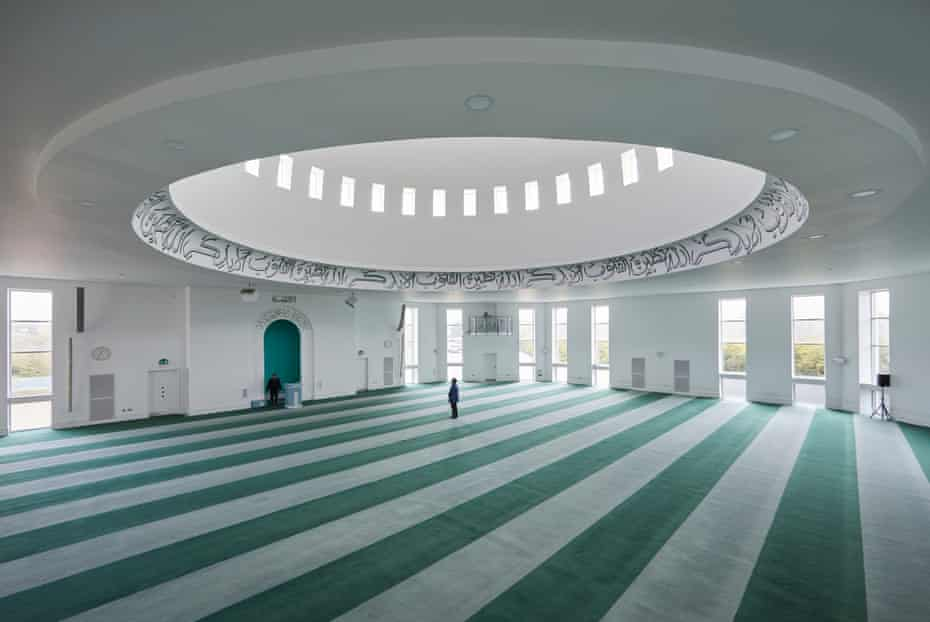 3 April: The Baitul Futuh mosque, the largest in western Europe, empty at Friday prayer time during the first full week of the lockdown.