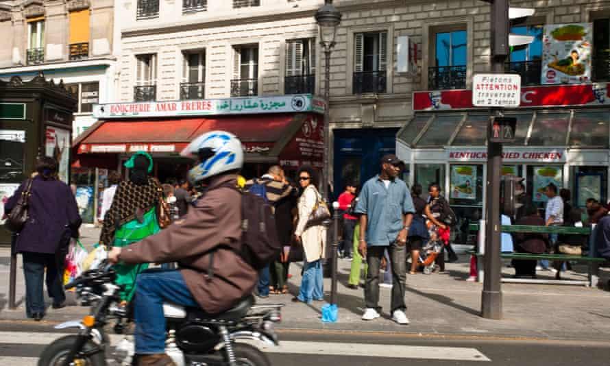 La Goutte d'Or neighborhood, Paris.
