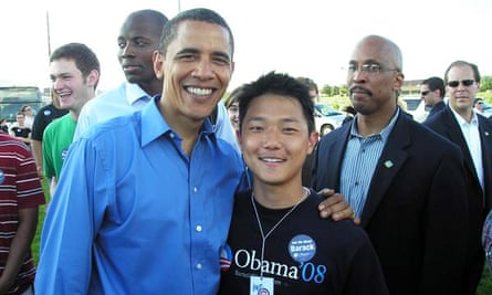 Ronnie Cho worked on Barack Obama's 2008 campaign.