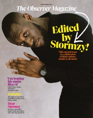 This review appears in the 15 December 2019 Observer Magazine edited by Stormzy