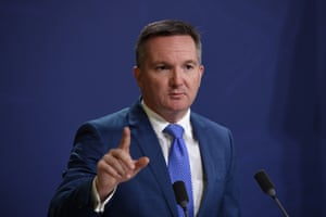 The shadow treasurer, Chris Bowen, responds to the Myefo statement