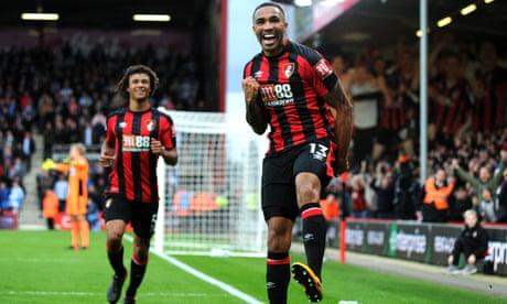 Callum Wilson hat-trick powers 10-man Bournemouth past Huddersfield