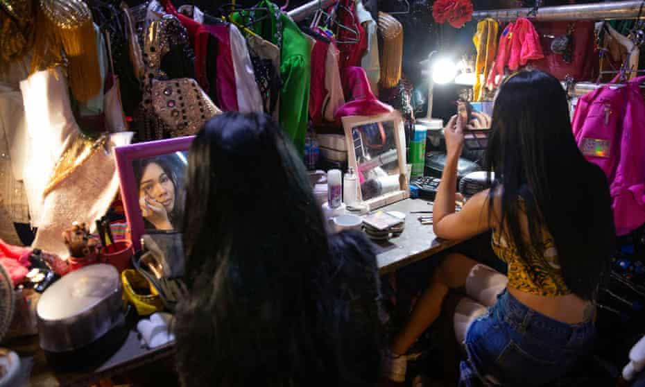 Behind the scenes with Lady Boys of Bangkok.