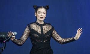 Lorde performs at the Outside Lands Music Festival