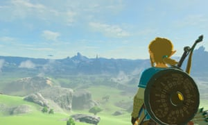 A scene from the video game The Legend of Zelda: Breath of the Wild.