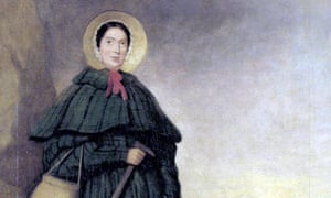 A painting of one of the palaeontological greats: Mary Anning.