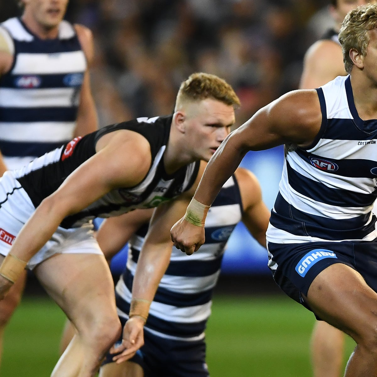 Afl Colours Clash Leaves Collingwood Geelong Fans Fuming Afl The Guardian