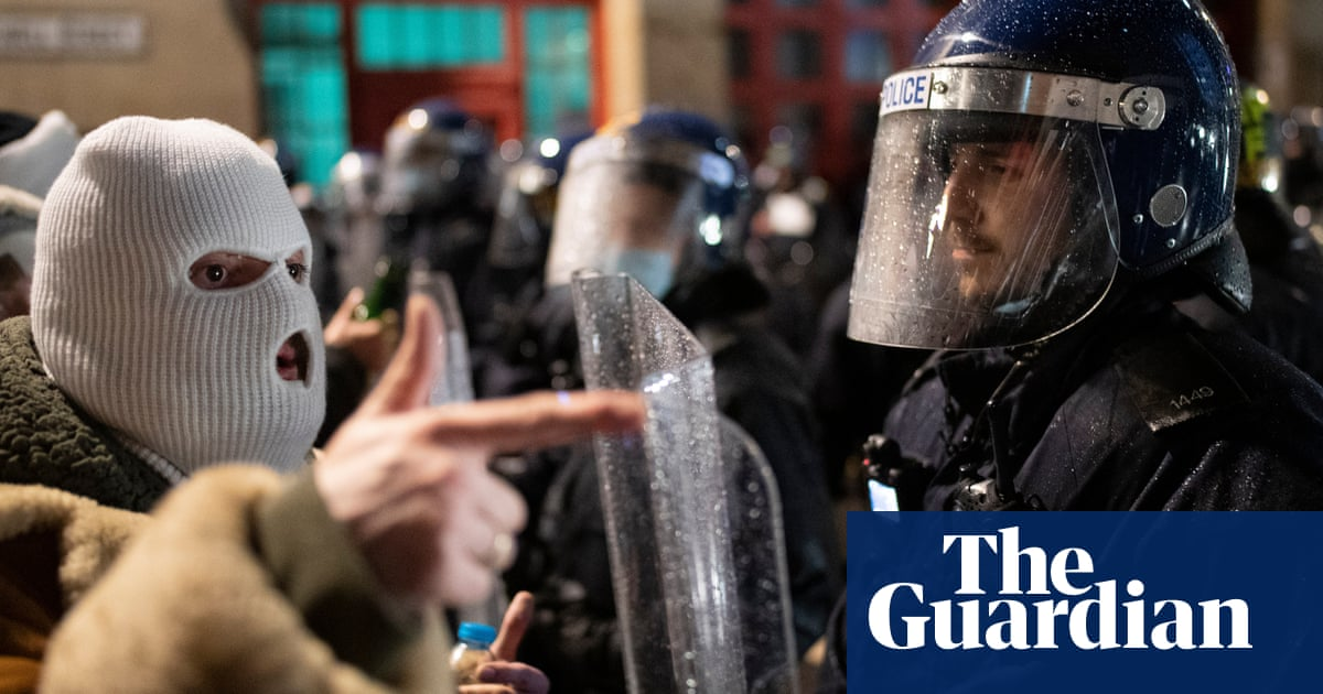Ever-changing Covid rules on protest set up conflict with the police