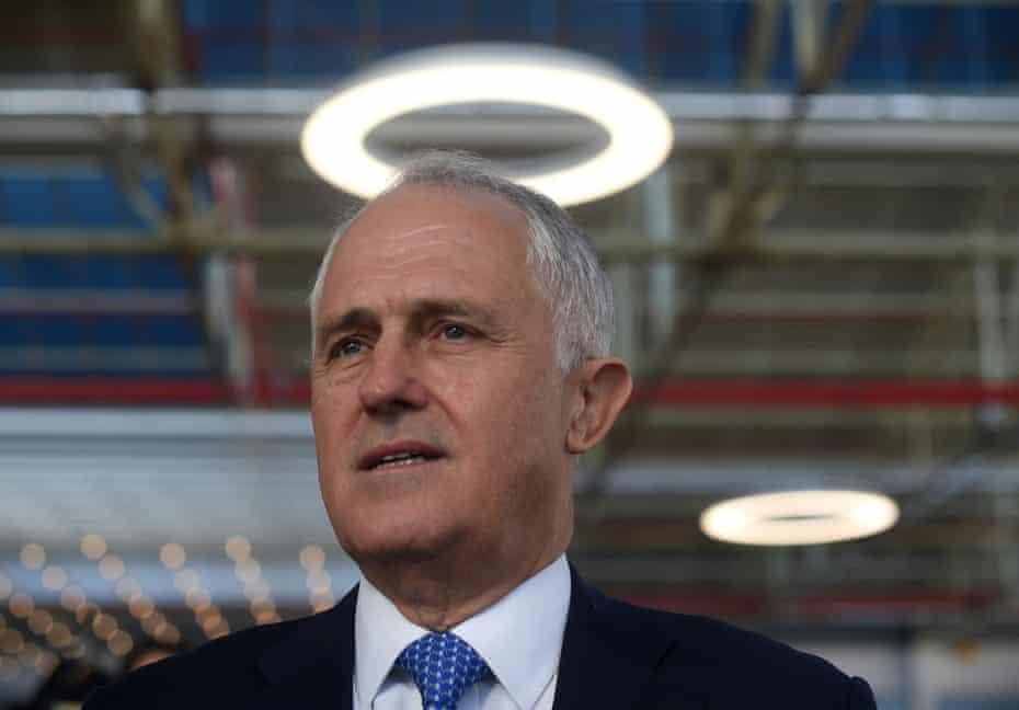 Turnbull at Flinders University in Adelaide