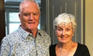 Ian Moore Wilson with his wife Valerie, who survived.