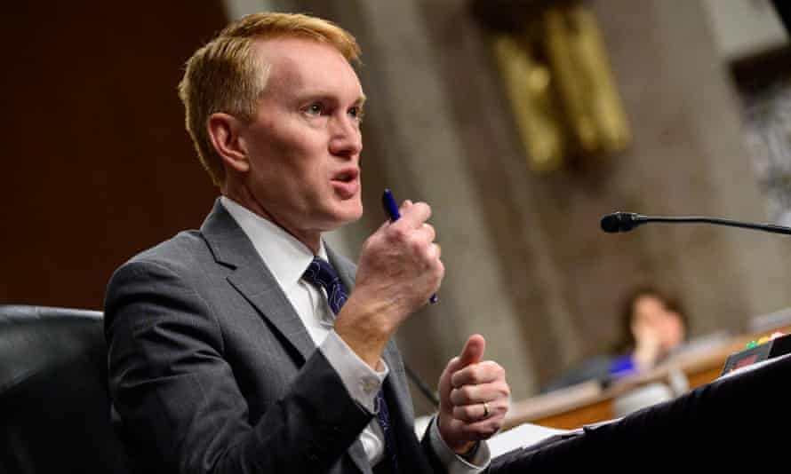 James Lankford on Capitol Hill on 23 February.