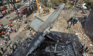 At least 141 bodies have been recovered after a military plane crashed into Indonesia's third-largest city of Medan just two minutes after take-off.