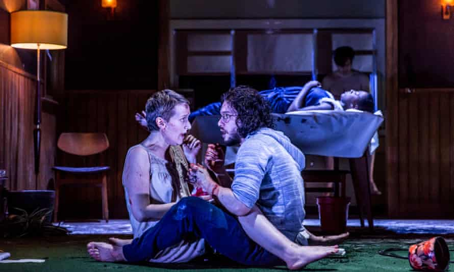 Kit Harington and Jenna Russell in Doctor Faustus.
