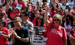 The United Teachers of Los Angeles, the union of the city's public school teachers, voted to authorize a strike.