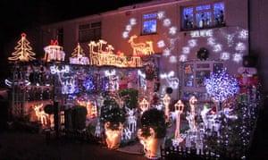 Decorations in Llandaff North in Cardiff