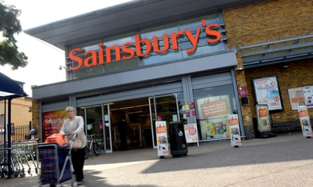 A Sainsbury's store