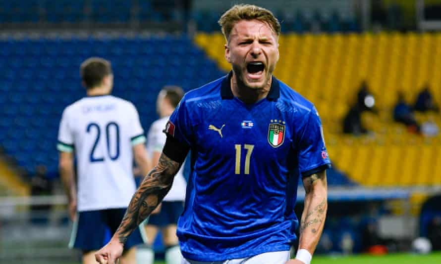 Northern Ireland battle hard but are punished by Ciro Immobile and Italy |  World Cup 2022 qualifiers | The Guardian