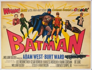 A poster for the British release of Leslie H. Martinson's 1966 film Batman: The Movie