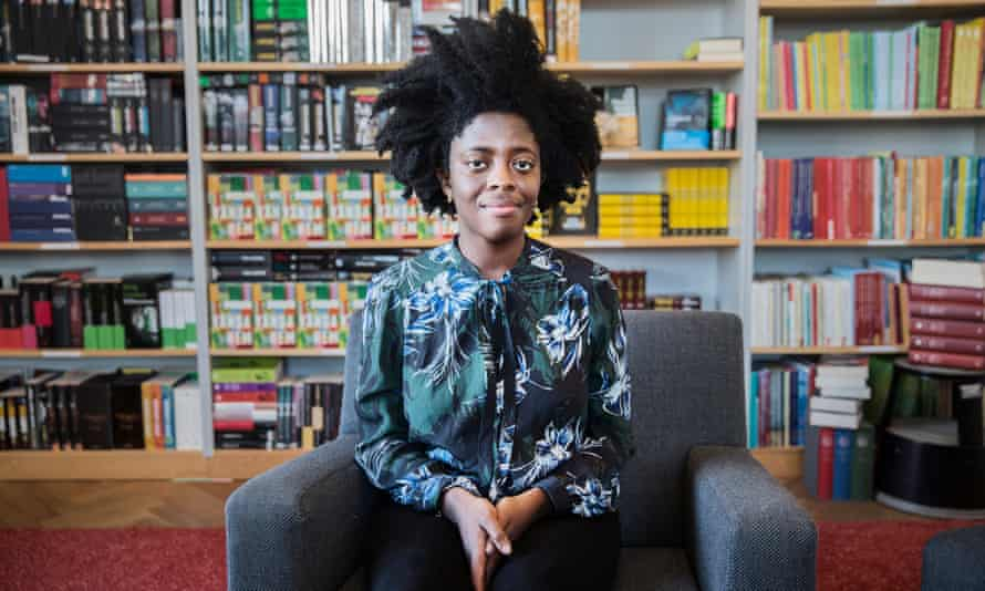 Yaa Gyasi, a Ghanaian-American novelist, author of Homegoing, in Stockholm, Sweden, January 2017.