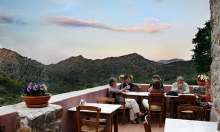 Milia Mountain Retreat in Crete
