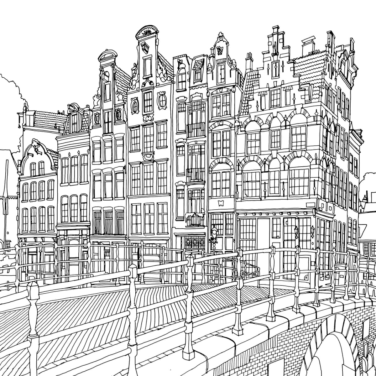 Fantastic Cities The Most Intricate All Ages Colouring