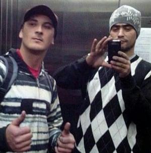 Alex Dalla Vechia Costa, left, and Ailton dos Santos.