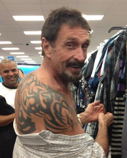 John McAfee was deported from Guatemala and returned to Miami in 2013.