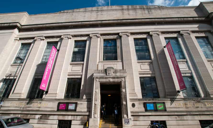 'In Sheffield, the decline in children's loans over the last five years is calculated at 56%' … Sheffield central library.