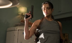 'Tone-deaf in every possible way' ... Michelle Rodriguez in [re]Assignment.